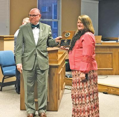 Appomattox County Commissioner of the Revenue Sara Henderson