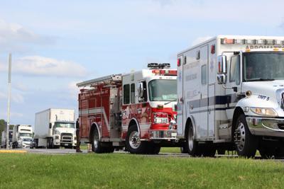 One injured in 460 West Appomattox crash