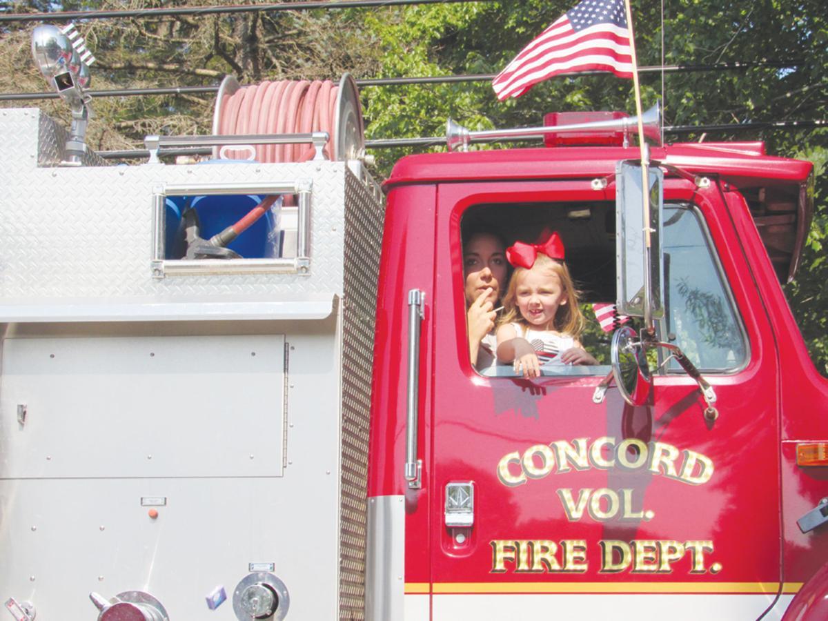 Fire truck girl
