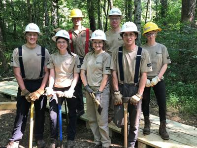 Appalachain Conservation Corps crew