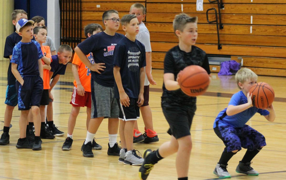 Skills sharpened at ACHS boys basketball camp
