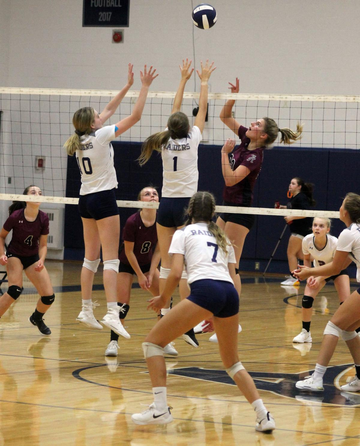 After loss to Amherst, Appomattox volleyball sweeps Halifax