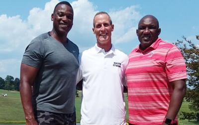 Smith Strong golf tourney gets underway, Coach Smith attends