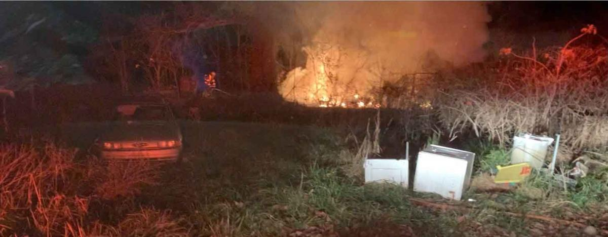 Red House Fire Dept. called to fire