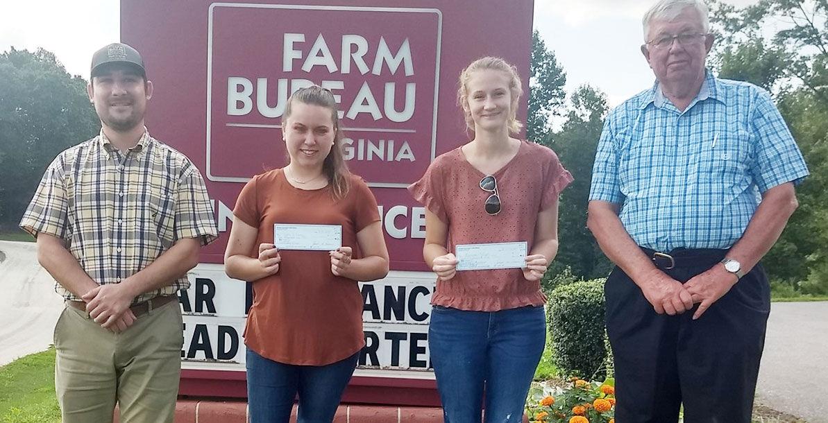 Appomattox County Farm Bureau scholarship winners