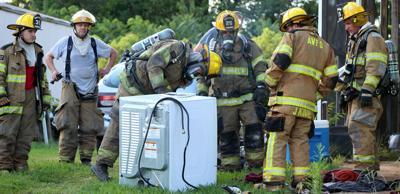 Appomattox fire crews respond to dryer fire