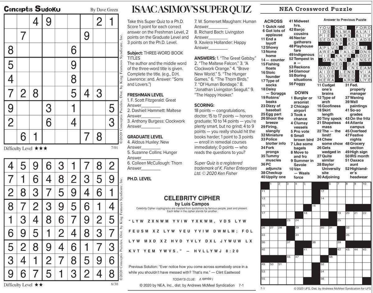 July 1 puzzles.pdf