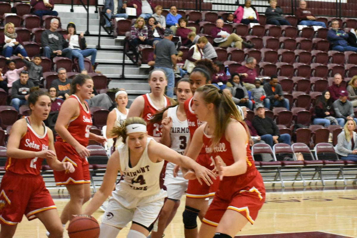 Fairmont State women go down 93-73 to Seton Hill