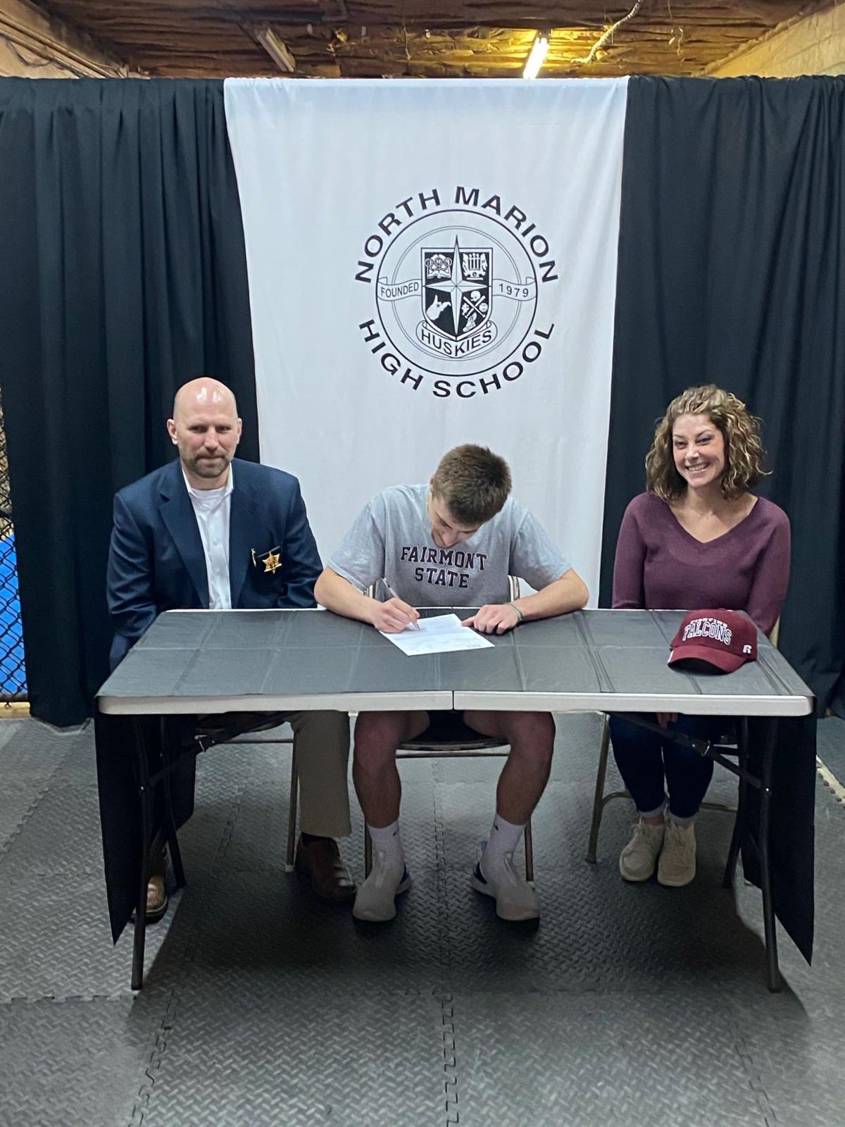North Marion S Beau Bearden To Wrestle At Fairmont State Sports Timeswv Com