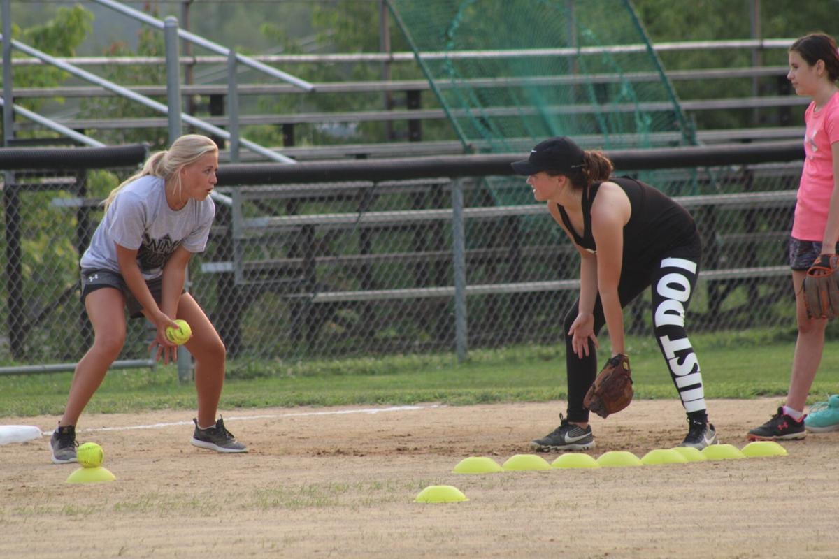 North Marion softball camp