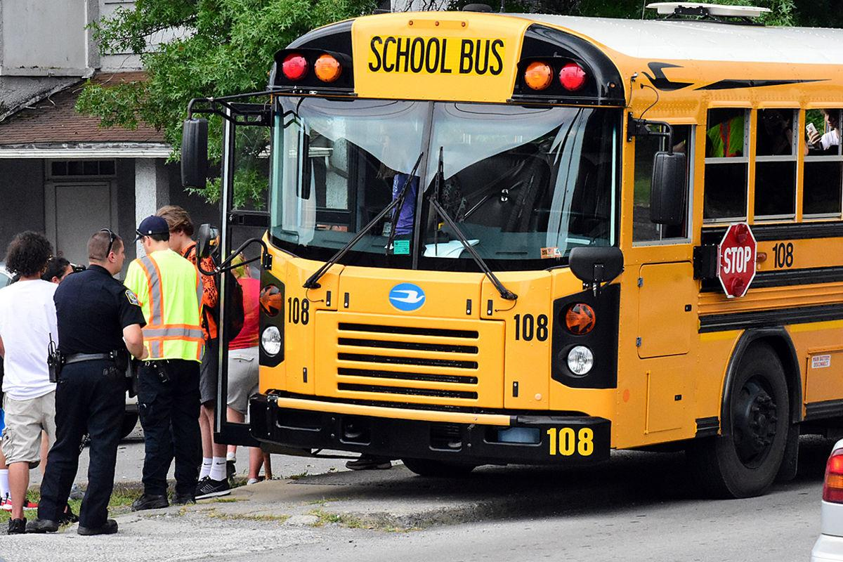 No injuries after bus accident on Locust Avenue | News