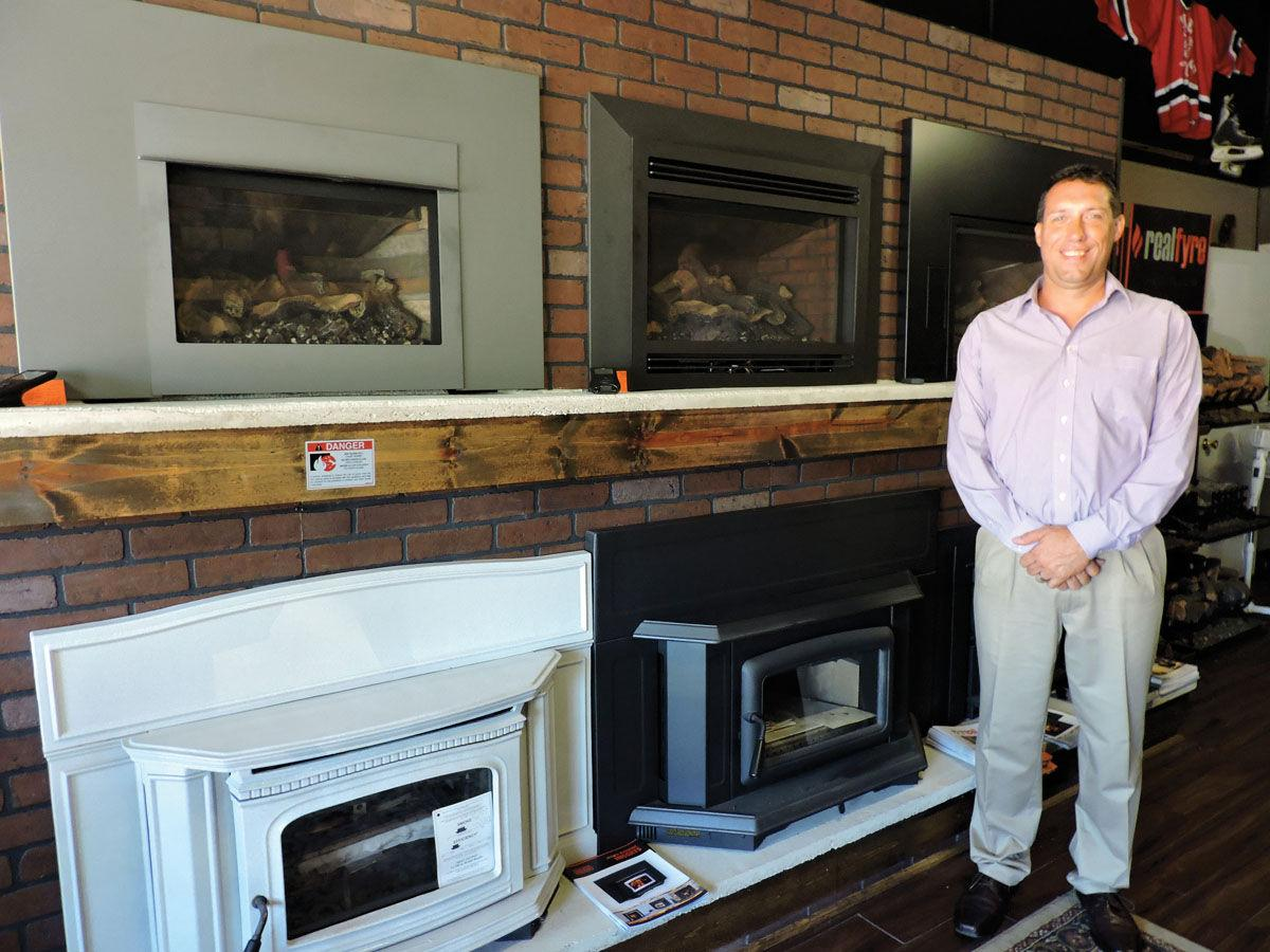 mountain state fireplace gallery offers variety news timeswv com