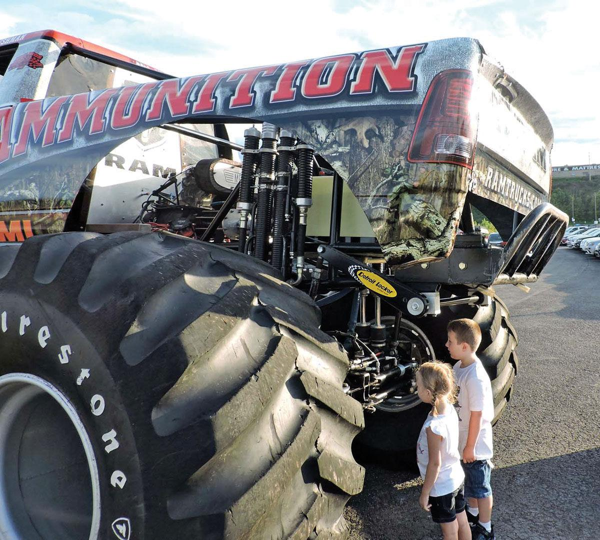 Monster Truck Rammunition Draws Plenty Of Attention News