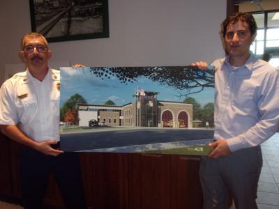 New fire station to get cornerstone ceremony