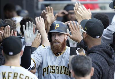 e298dfd7fcc Pirates White Sox Baseball. Pittsburgh Pirates  Colin Moran