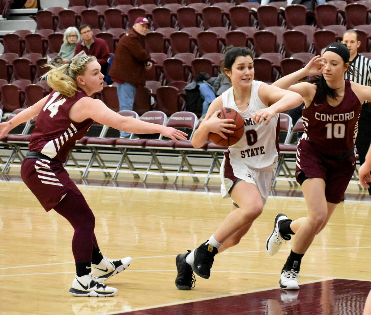 Falcons Fall against hot-shooting Mountain Lions