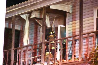 Fire on Potomac Ave.