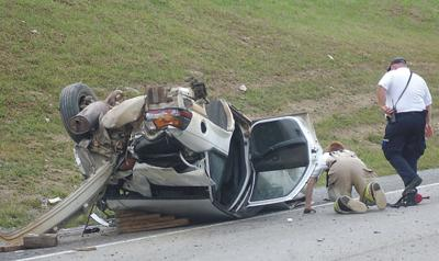 Two adults critically injured in I-79 accident   Local News