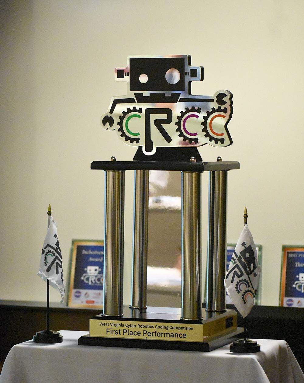 Fairmont State University Hosts Cyber Robotics Coding Competition