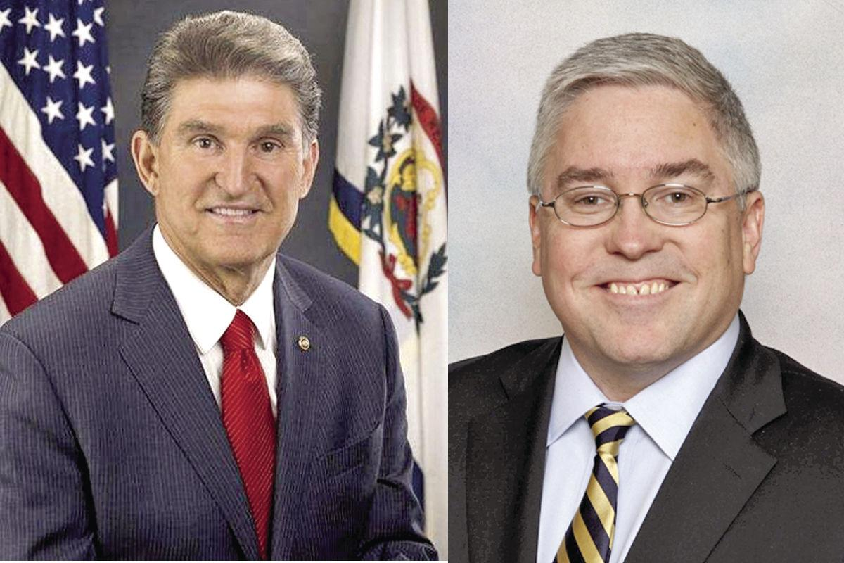 Image result for photos of sen joe manchin patrick morrisey
