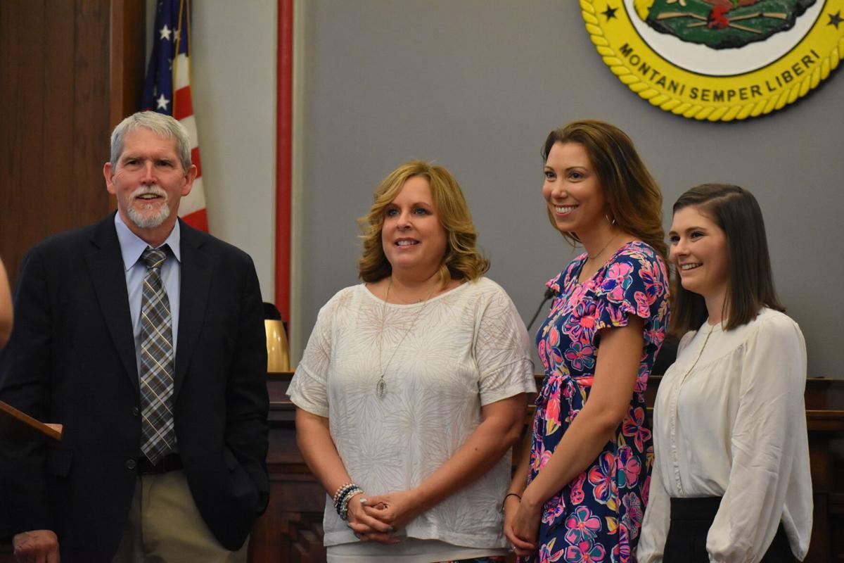 New CASA Advocates with Judge Wilson