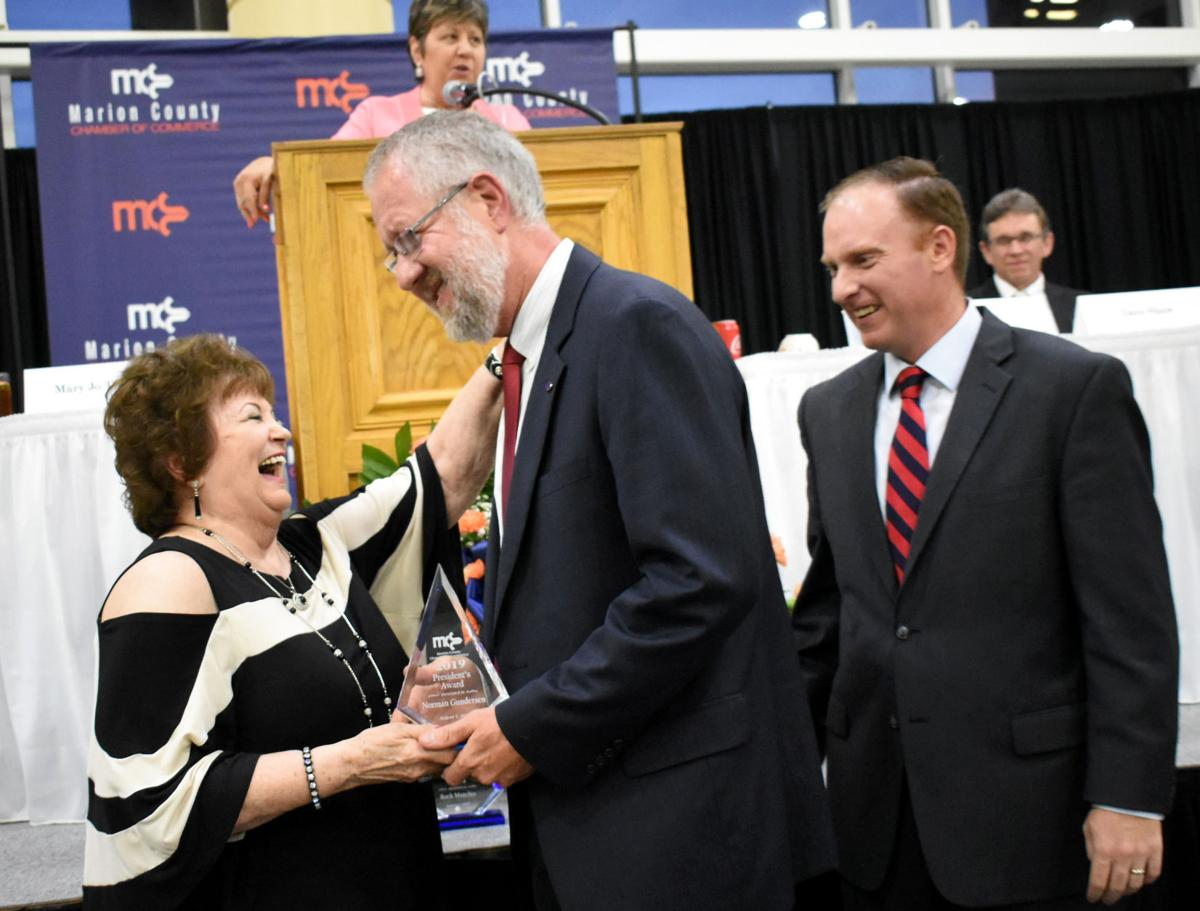 Business and civic leaders honored in annual dinner