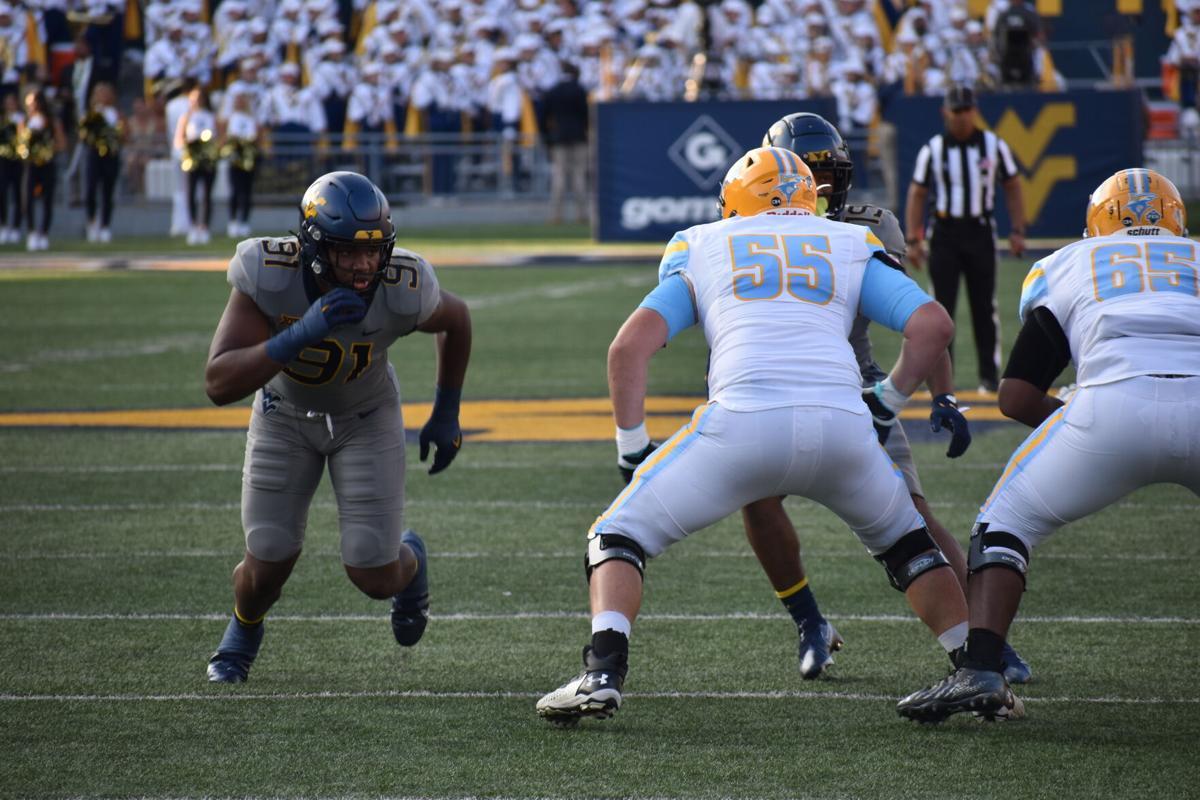 West Virginia Football Sean Martin