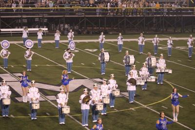 East Fairmont marching band
