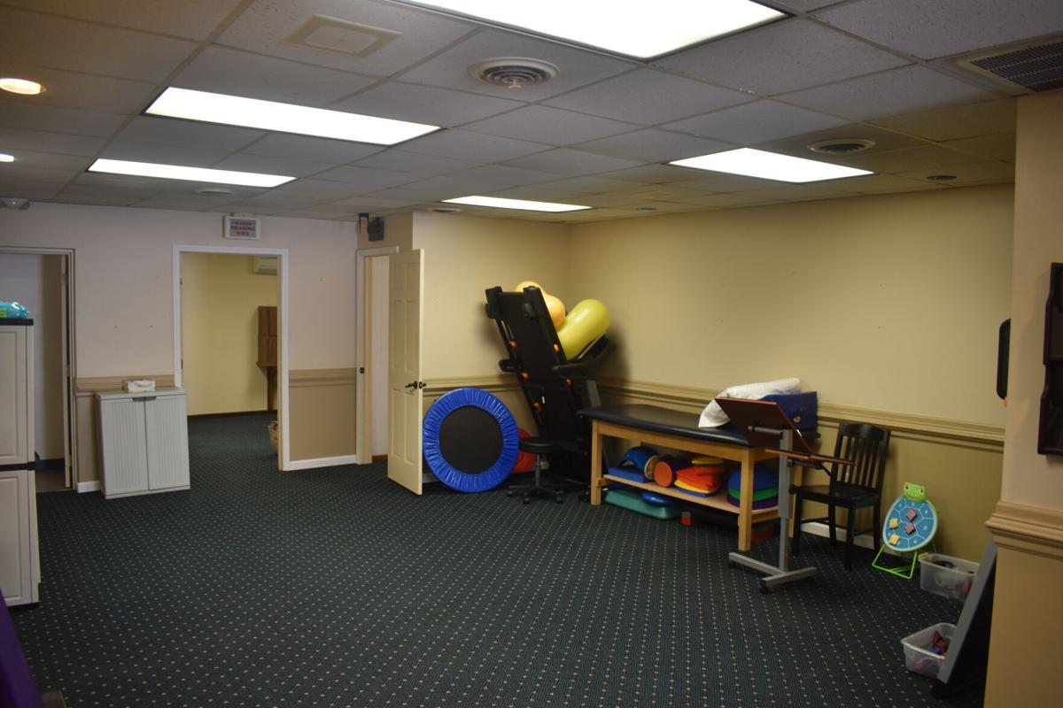 The physical therapy gym