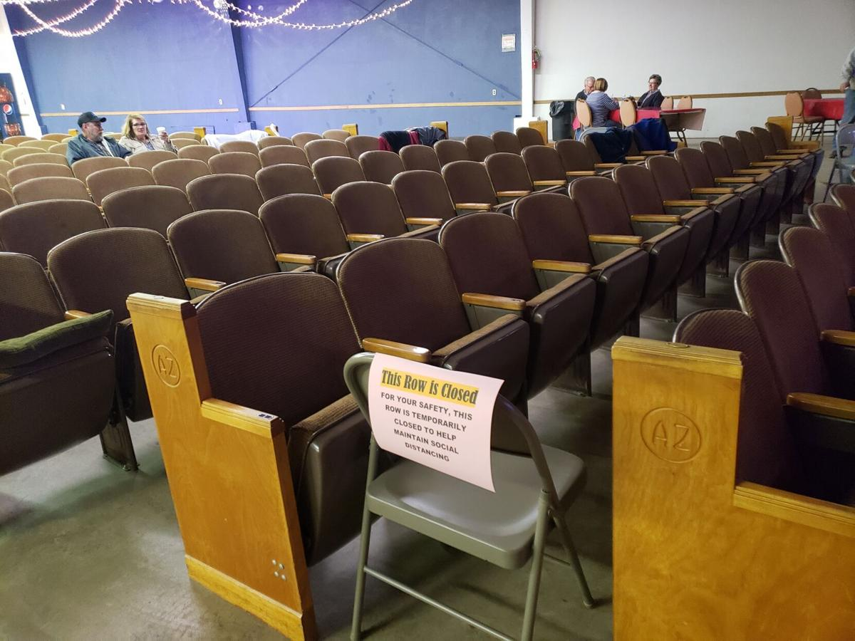 COVID Seating Restrictions