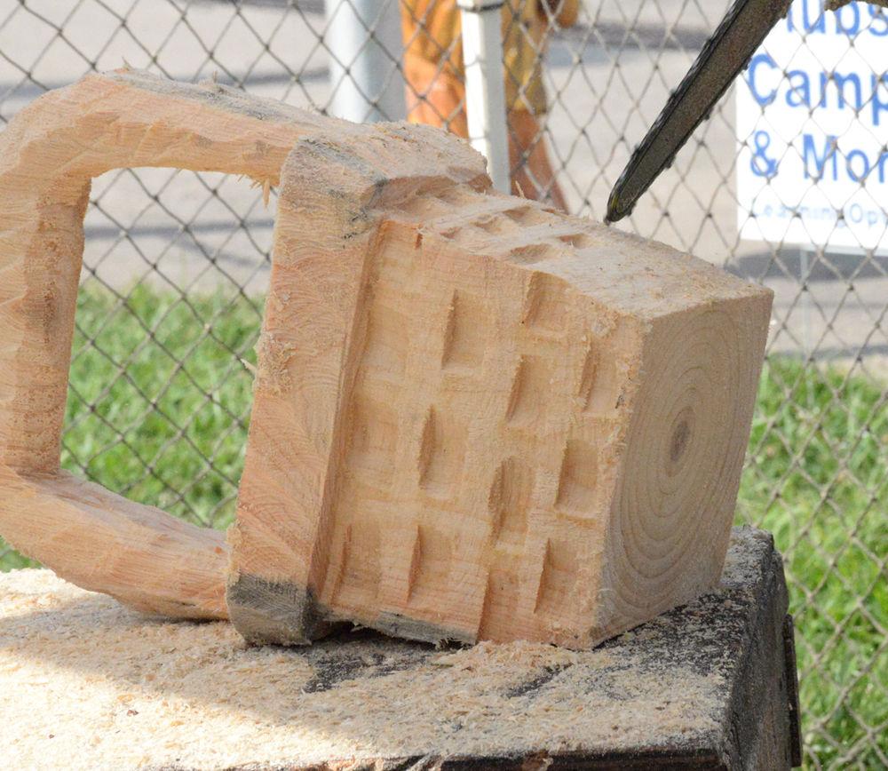 Producing art from wood blocks among highlights at