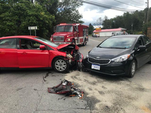 Firefighters respond to two-car crash | News | timeswv.com