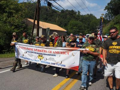 Union miners retrace historic path of bloody insurrection
