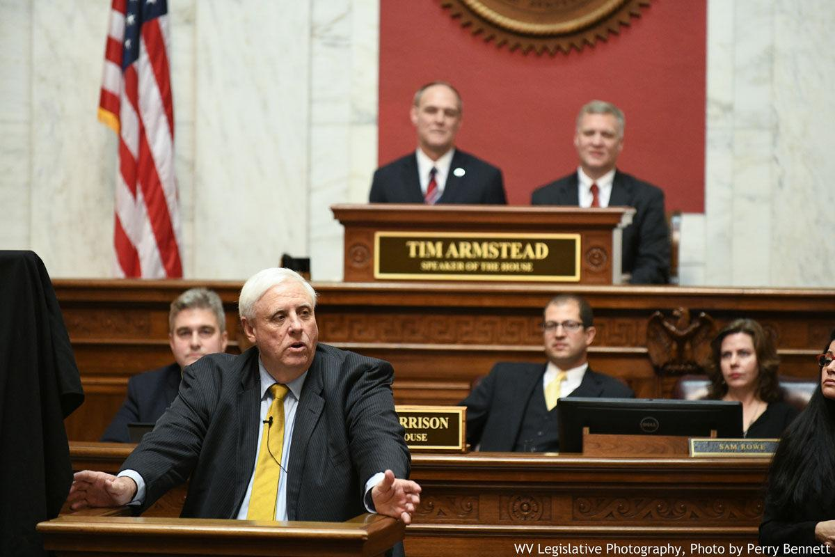 Justice\'s speech includes optimism for West Virginia   News ...