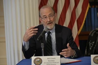 DHHR Cabinet Secretary Bill Crouch