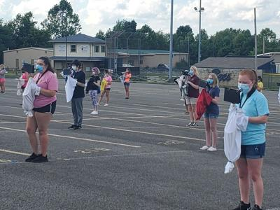 Marching Bands have practice