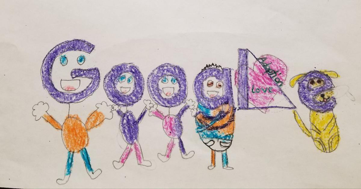 Milania Suplita's Doodle for Google state-winning art for grades K-3
