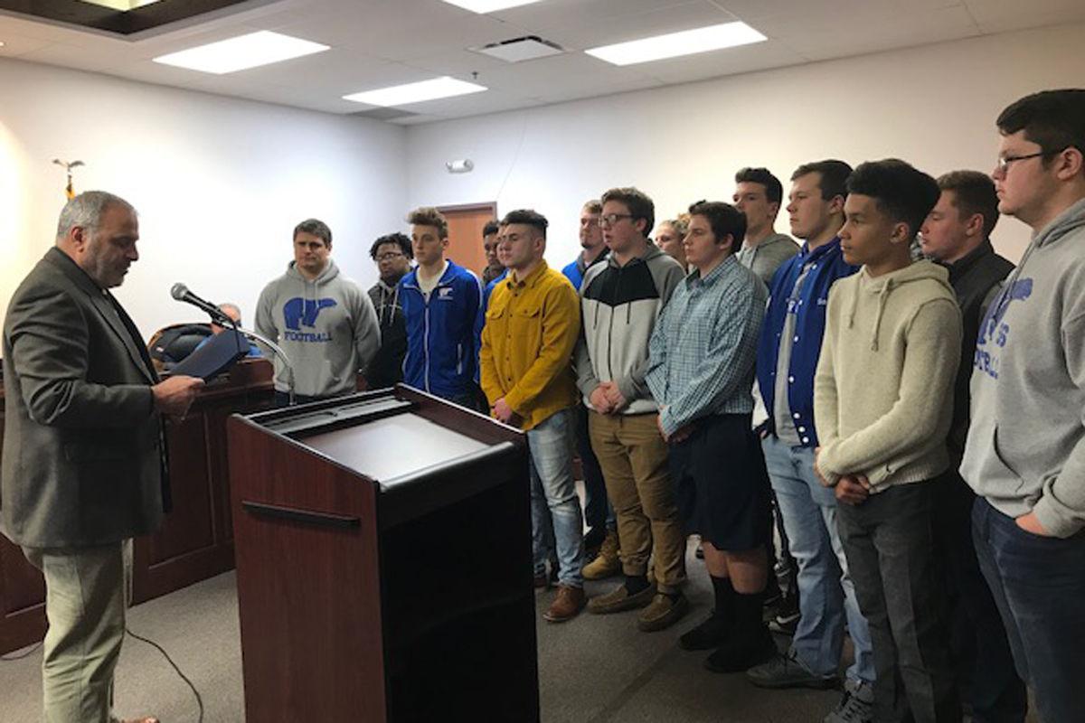 Fairmont City Council Honors Polar Bears Appoints Interim City