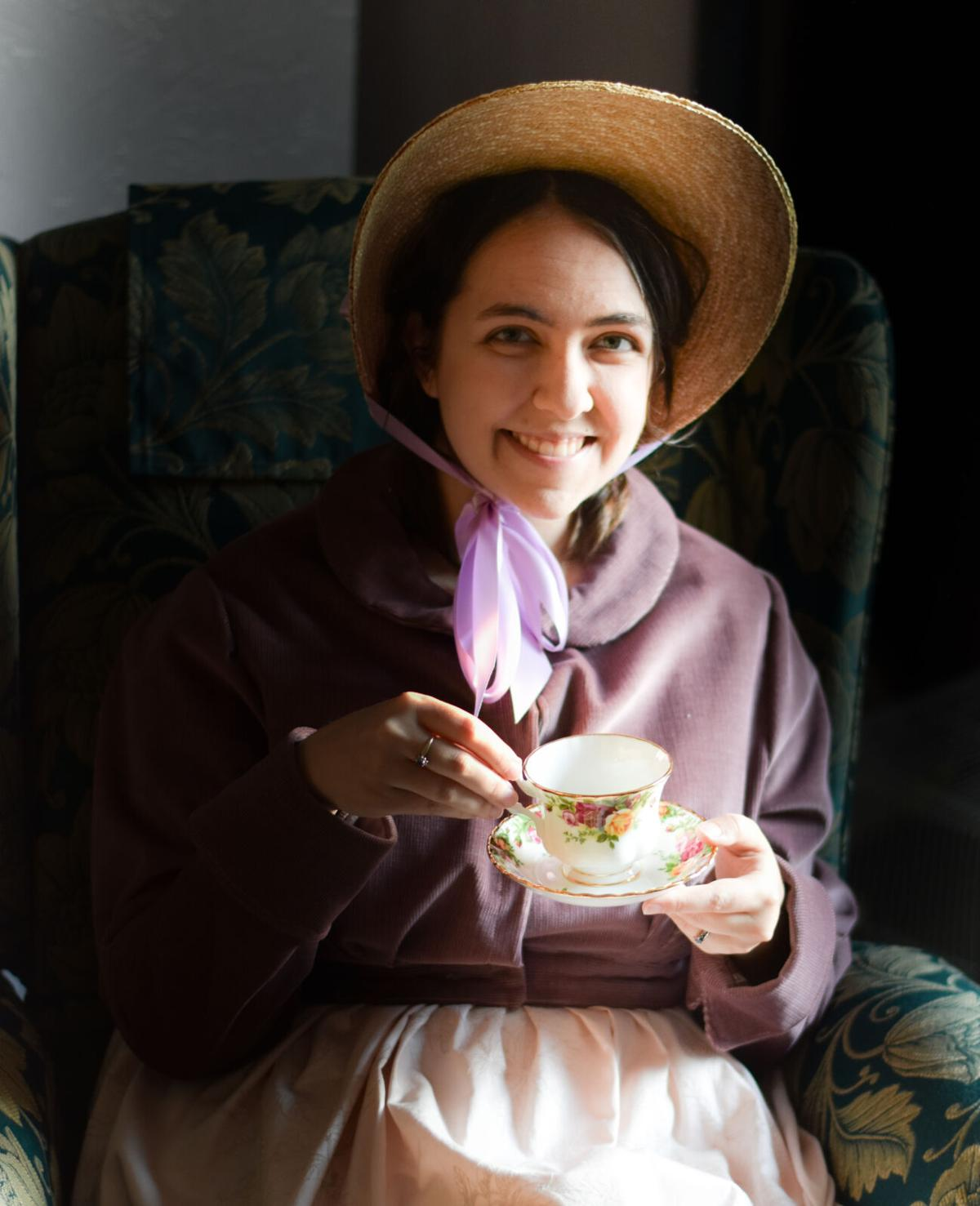 Ellis as Jane Austen
