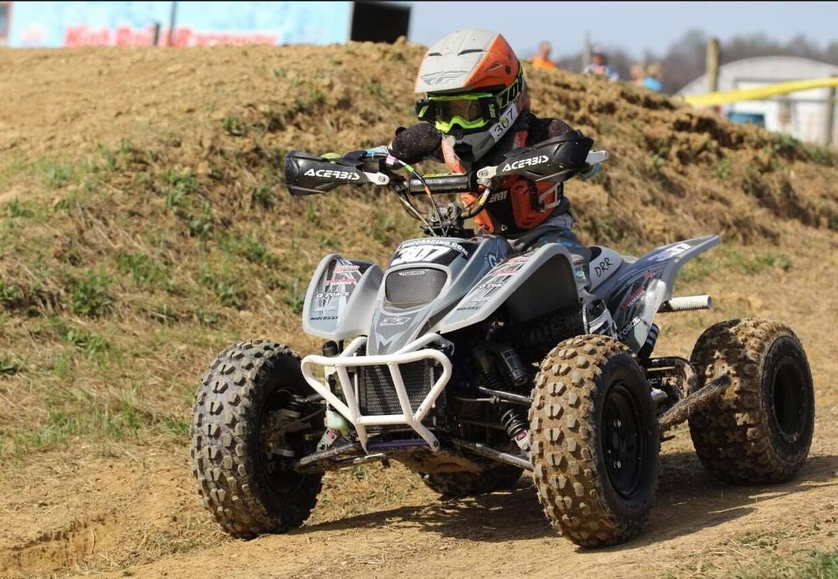 Cruz Steele riding