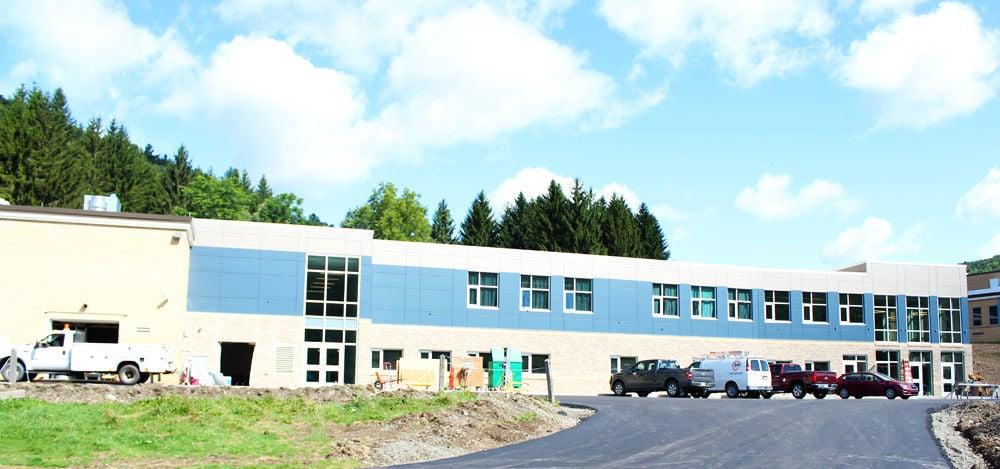 Cowanesque Valley High School gets new entryway
