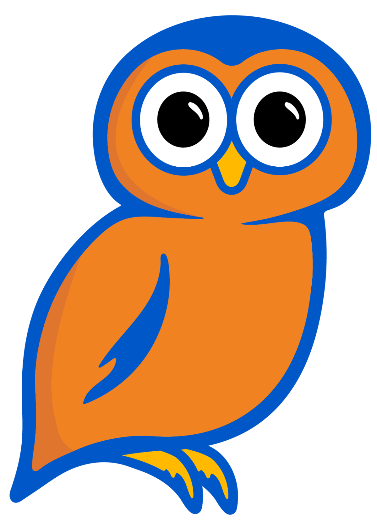 Travel plaza logo Onvo the owl