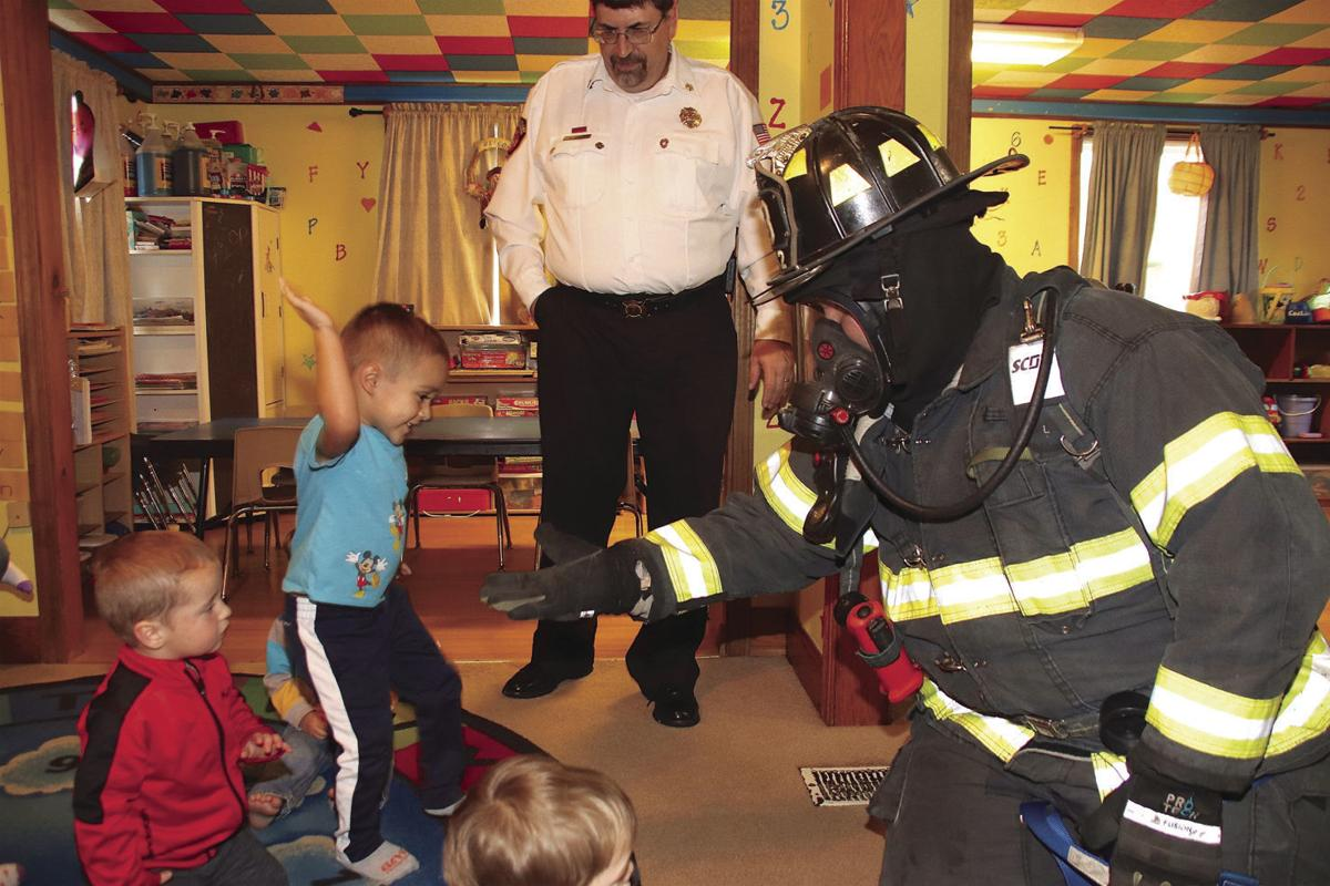 Fire company teaches fire prevention