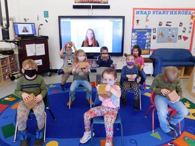 Preschoolers study wildlife
