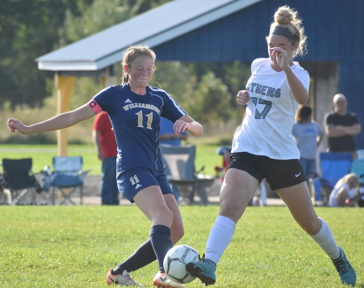 Williamson girls soccer