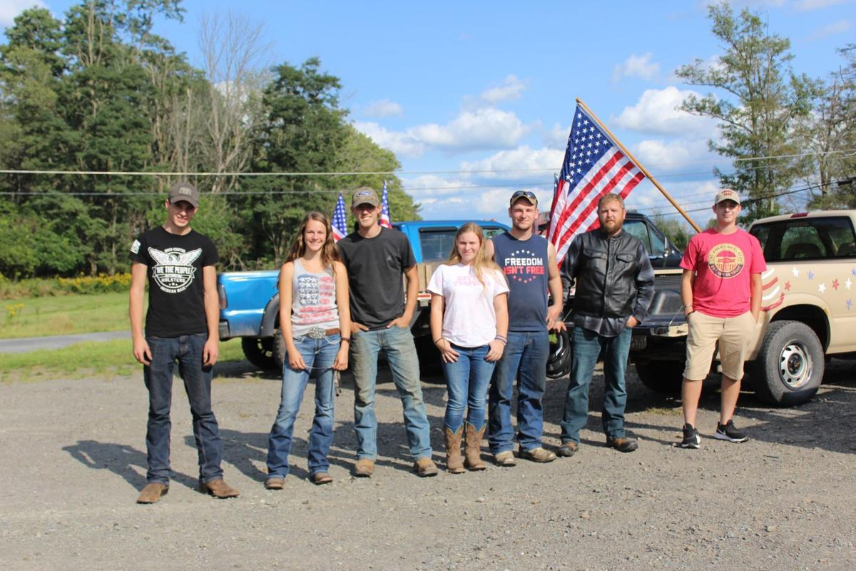 Young Wellsboro residents honor 9-11 victims and heroes
