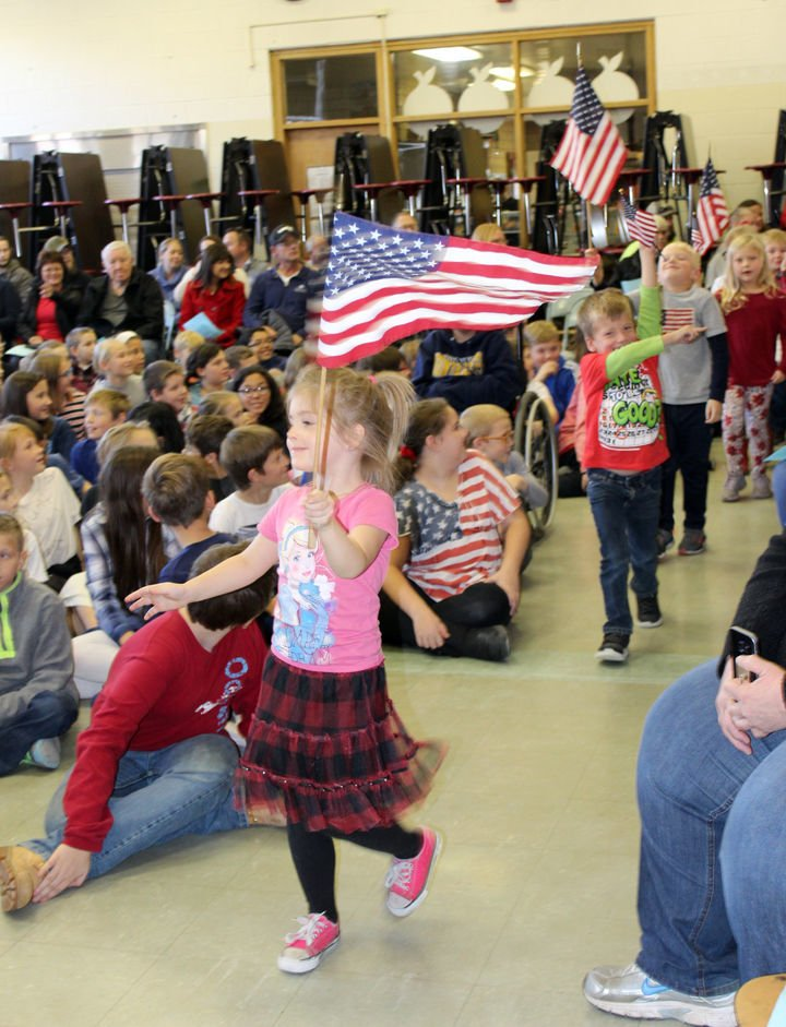 Liberty Elementary salutes vets
