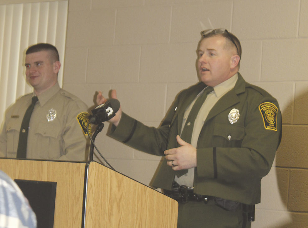 Two new game wardens welcomed photo