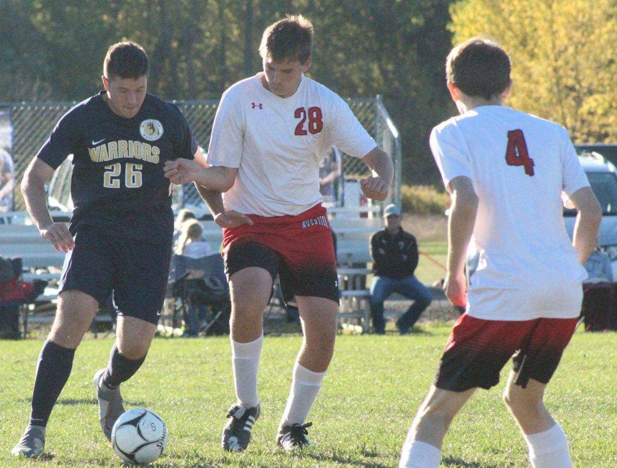 Burleigh fights for ball