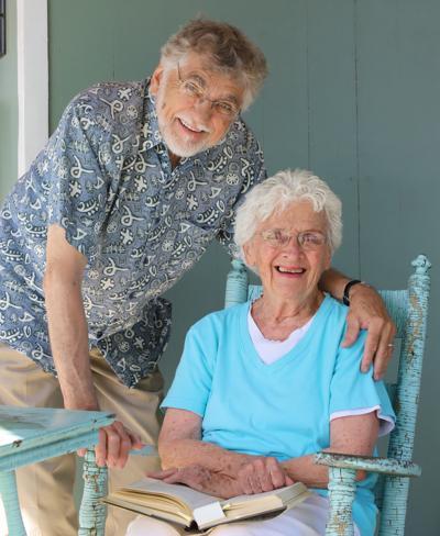 'Acting up' coordinators Larry and Barbara Biddison